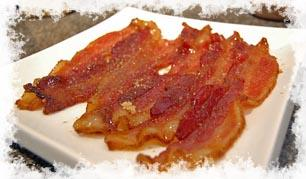 Cracked Pepper and Brown Sugar Bacon