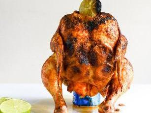 our favorite beer can chicken