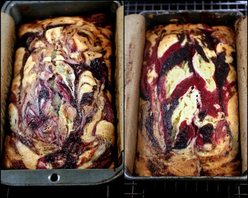Berry Swirl Yogurt Cake