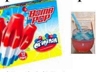 Bomb Pop Drink Recipe (alcoholic and non-al…