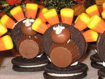 Thanksgiving Candy Turkey