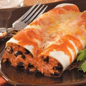 Hearty Chicken Enchiladas