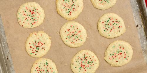 3 ingredient sugar cookies