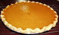 From Scratch Sugar Free/Regular Pumpkin Pie