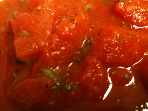 Sweet N' Spicy Chunky Tomato Sauce