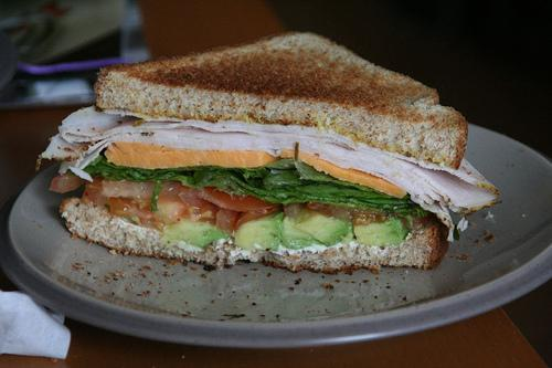 Roasted Turkey Avocado BLT