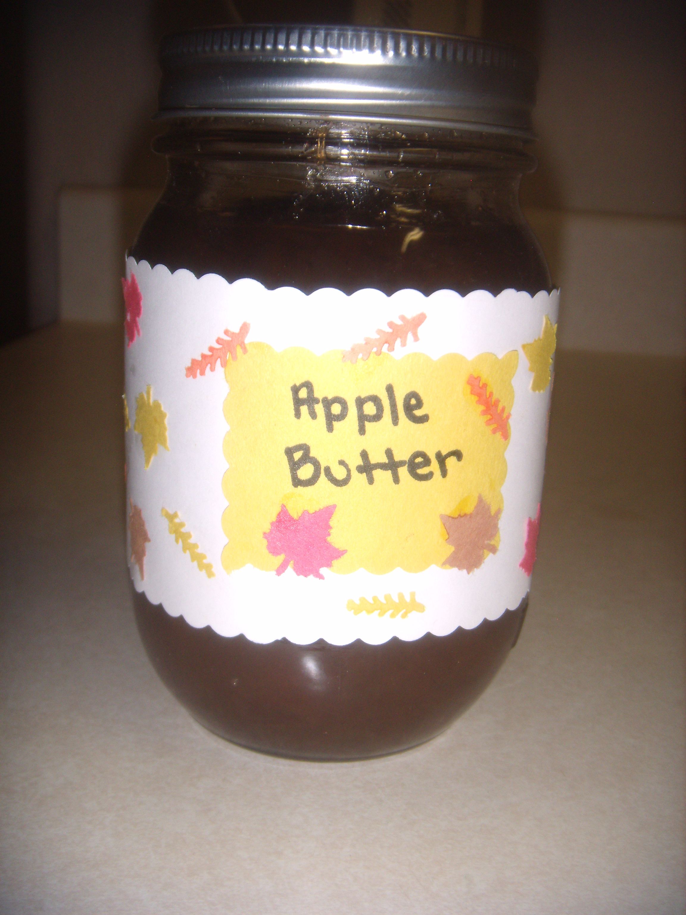 Autumn Apple Butter Recipe