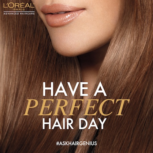 RSVP for the L'Oréal Paris #AskHairGenius Twitter Party Wednesday 4/17 at 9pm ET!
