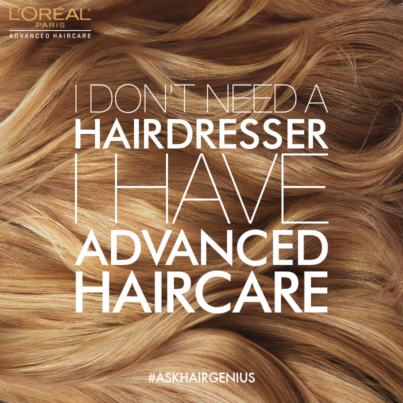 RSVP for the L'Oréal Paris #AdvancedHaircare Twitter Party 10/29 at 1pm ET!