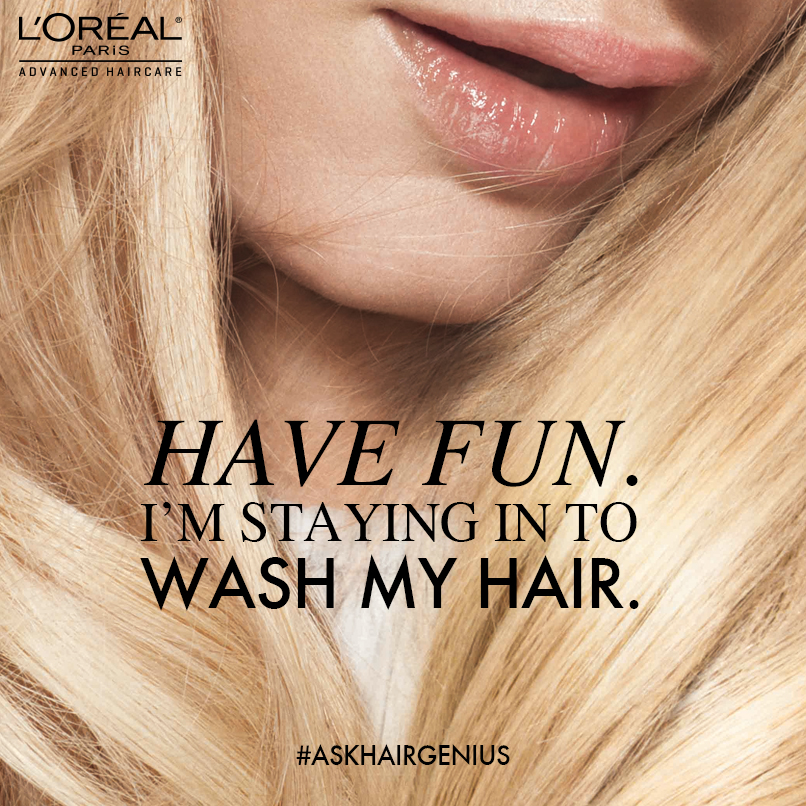 RSVP for the L'Oréal Paris #AdvancedHaircare Twitter Party 11/14 at 1pm ET!