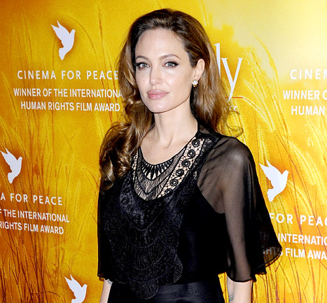 Angelina Jolie Using Style to Support Girl's Schools