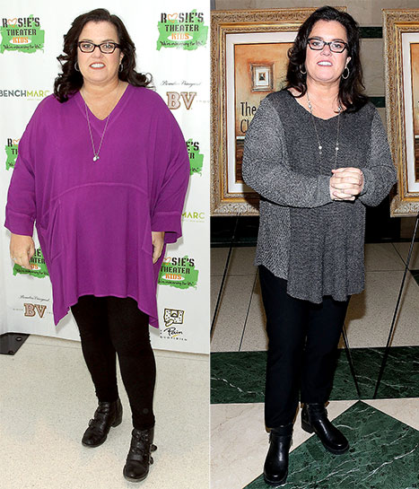 Rosie O'Donnell Talks About Her Post Heart Attack Dramatic Weight Loss
