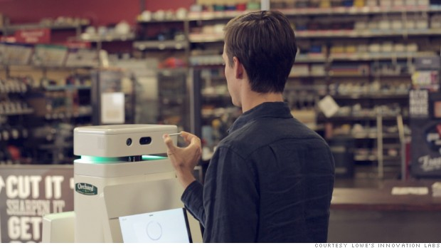 Robots To Assist Customers at Lowes-Owned Hardware Store