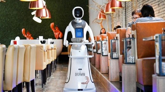 Robots Replace Bartenders As…