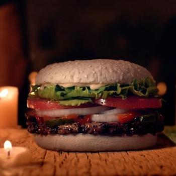 Burger King Offers a New Ghostly Menu Item For Halloween