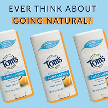 Enter The @SheSpeakUp & @TomsofMaine #WhyISwitched Long Lasting Natural Deodorant Giveaway!