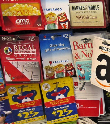 Unused Holiday Gift Cards Just Taking Up Space? Here's What You Can Do