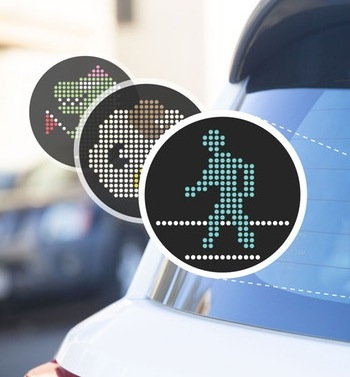 Let Your Fellow Driver Know Exactly How You Feel With New LED Emoji Device For Your Car