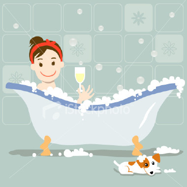 Hip, Hip, Hurray! January 8 is Bubble Bath Day!