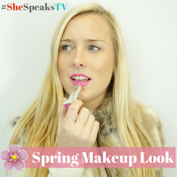 Must-Try #BOLDforSPRING Makeup Look on SheSpeaksTV + $100 Gift Card Giveaway!