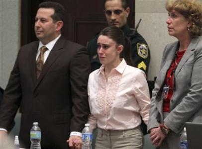 Jury Finds Casey Anthony Not Guilty Despite Opposing Public's Opinion