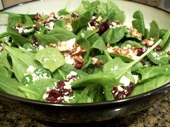 Spinach Salad with Craisins and Feta