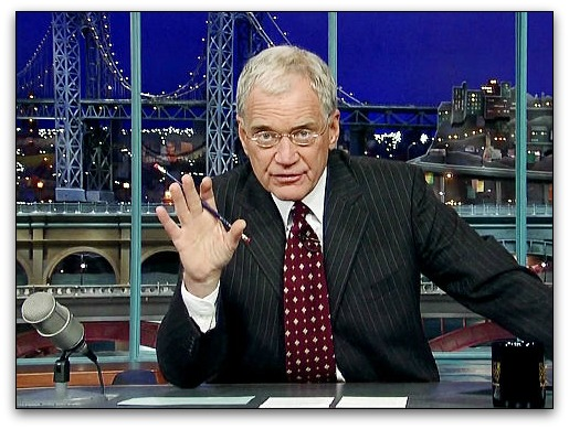 Why Women Can't Be Funny on Letterman