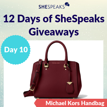 12 Days of SheSpeaks, Day 10…