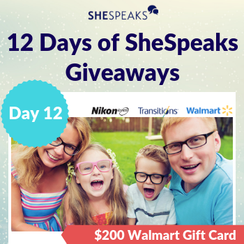 12 Days of SheSpeaks, Day 12…