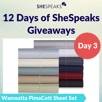 12 Days of SheSpeaks, Day 3: Win a Wamsutta® <br />1000-Thread-Count Sheet Set!