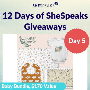 12 Days of SheSpeaks, Day 5: Win a Baby Bundle, valued at $170!