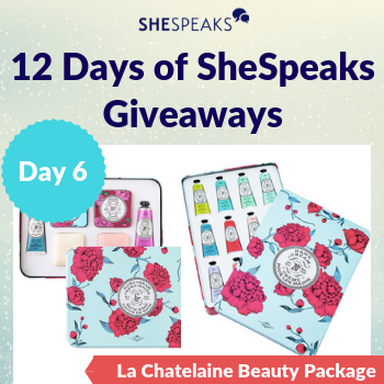 12 Days of SheSpeaks, Day 6:…