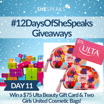 12 Days of SheSpeaks, Day 11…