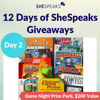 12 Days of SheSpeaks, Day 2:…