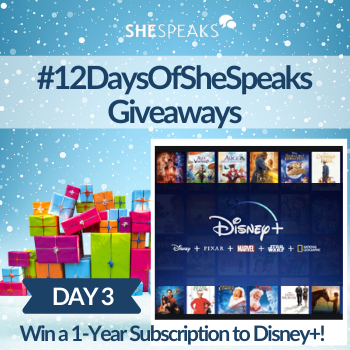 12 Days of SheSpeaks, Day 3:…