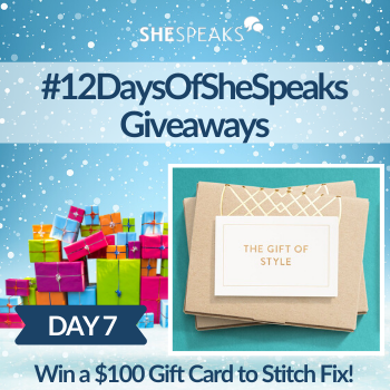 12 Days of SheSpeaks, Day 7:…