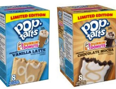 Coffee Lovers Indulge In New Dunkin' Donuts Coffee Flavored Pop-Tarts