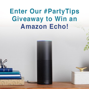 5 Things NOT to Do At a Party. Plus Enter to Win an Amazon Echo (valued at $179.99)!