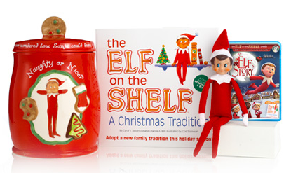 The Elf on the Shelf { A New Family Tradition }