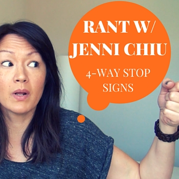 4-Way Stop Sign! What do you do? #SheSpeaksTV
