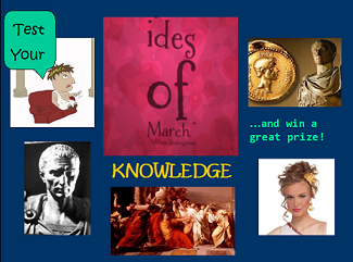 Enter the SheSpeaks Ides of March Giveaway