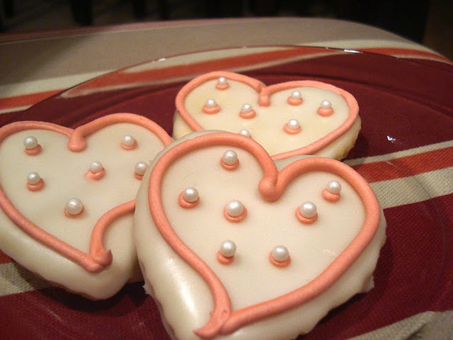Valentine's Day Cut Out Cookies