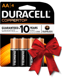 Enter the @SheSpeaksUp Walmart & Duracell #PowerTheHolidays Giveaway!
