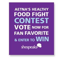 Aetna's Healthy Food Fight. It's time for you to help pick a winner!