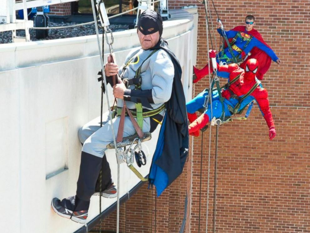From Window Washers to Superheroes All In an Effort To Make Sick Kids Smile