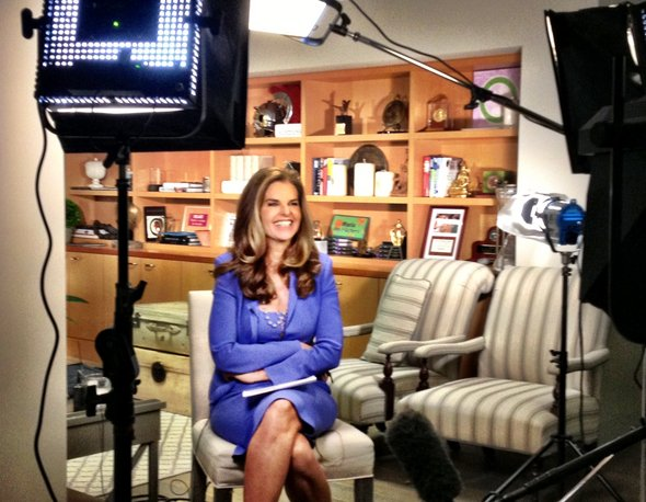 NBC Welcomes Maria Shriver's Return