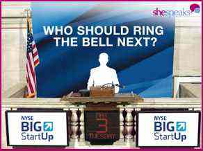 Vote Now to Help SheSpeaks Ring the New York Stock Exchange Bell & A Chance to Join Us!