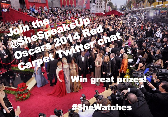 Live Tweet the Oscars 2014 Red Carpet w/ Prizes from Olay, FragranceNet.com and Stella & Dot