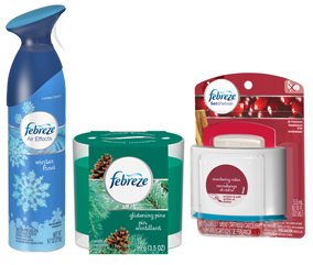 RSVP for the Febreze #FebrezeHoliday Twitter Party on 11/19 at 1 PM ET!