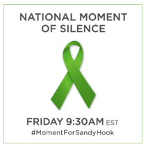 Please Join Us in a Moment of Silence for Sandy Hook